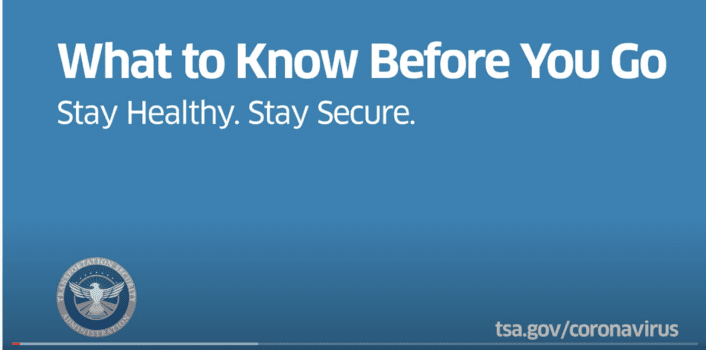 TSA What To Know Video When Traveling by Air