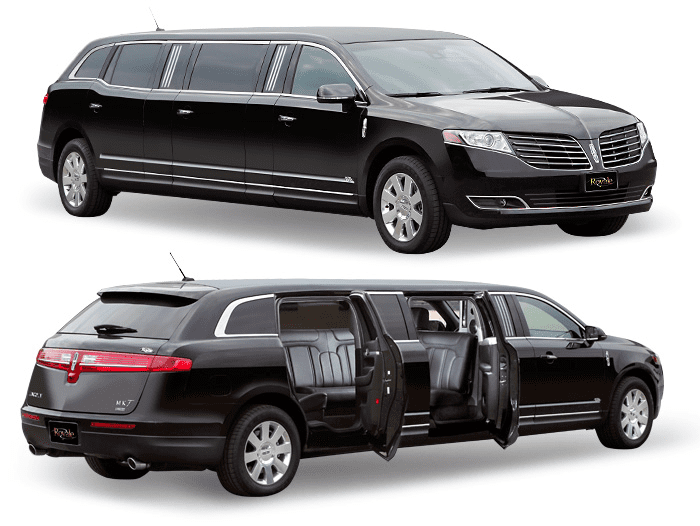 Boston Chauffeur's 8 passenger stretch limo with 5 doors.